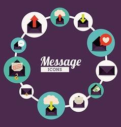 Message design vector