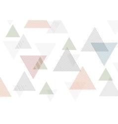 Minimal tech geometric background vector