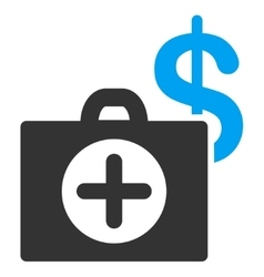 Payment healthcare icon vector