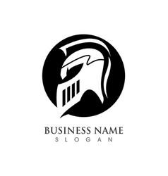 Spartan logo template vector