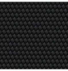Black abstract texture Seamless texture vector image