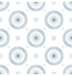 Swirl blue repeat vector