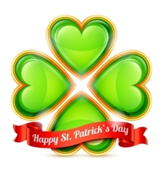 St patrick day congratulation vector