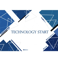 Background in technology and modern design vector