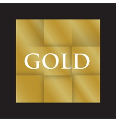 gold paper background vector image vector image
