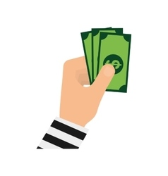 Money cash billet vector image
