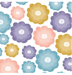 White background with watercolor pattern of vector