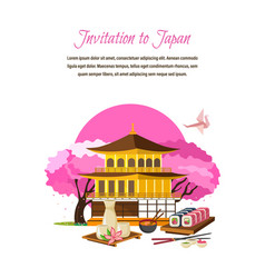 Culture language drinks sights traditions vector