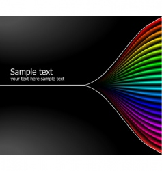 colours background vector image