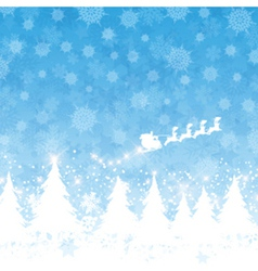 christmas santa background 1111 vector image vector image