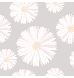 Seamless background with delicate flowers vector image vector image