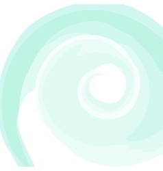 Swirled white frame vector