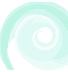 Swirled white frame vector image