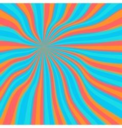 Colored orange lollypop background vector