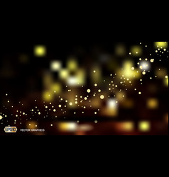 Digital abstract bokeh background with vector