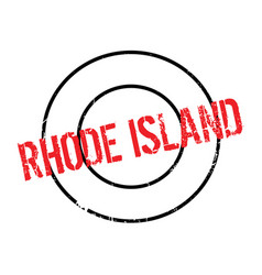 Rhode island rubber stamp vector