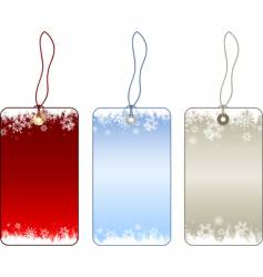 shristmas labels vector image