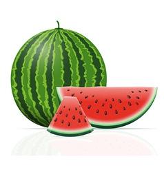 watermelon 07 vector image vector image