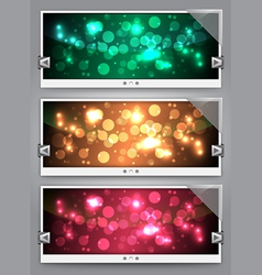 web sliders vector image
