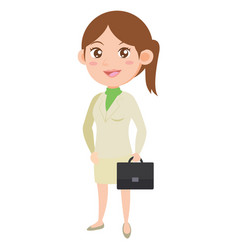 Style business women character collection vector
