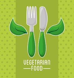 Vegetarian menu vector