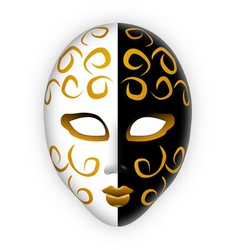 Venice mask vector