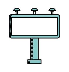 Board cinema isolated icon design vector