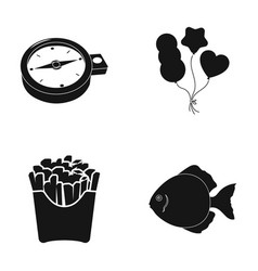 Here water cafe and other web icon in black vector