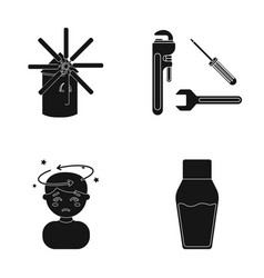 Liquid lacquer medicine and other web icon in vector