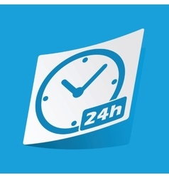 24h sticker vector