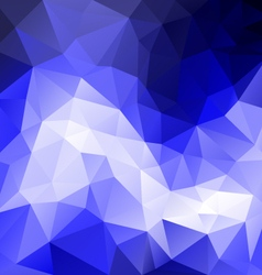 Blue sky polygonal triangular pattern background vector