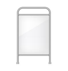 Ad banner mockup vector