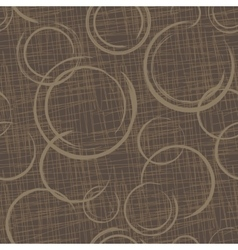 Abstract Circles Seamless Pattern vector image vector image