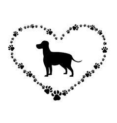 Animal and pet love design vector