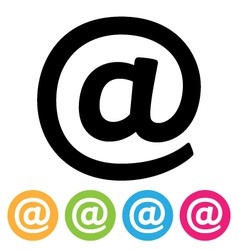 E-mail Icon vector image vector image