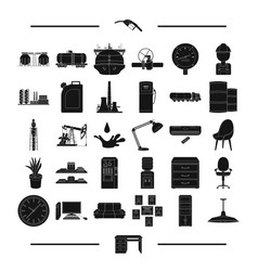 Equipment progress ecology and other web icon in vector