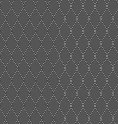 Wire fence on gray background vector