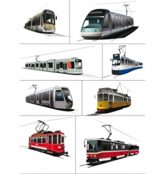 Trams vector