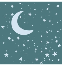 Night sky background vector