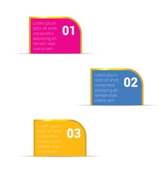 infographic set with golden frame in colorful vector image