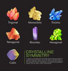 Crystalline symmetry vector