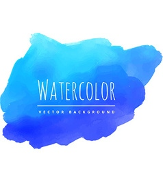 hand paint watercolor stain vector image vector image