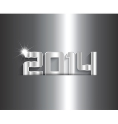 Metallic new year background 0511 vector