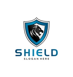 Shield Logo Template vector image vector image