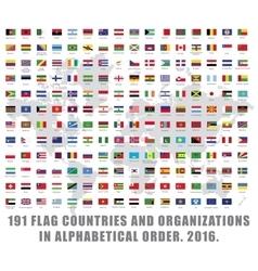 World flags all vector