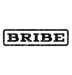 Bribe watermark stamp vector