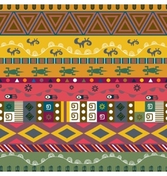 Abstract ethnic pattern tribal background vector