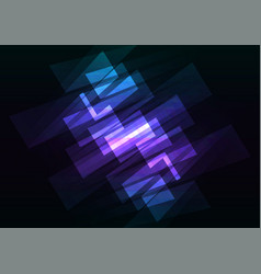 blue multicolor spotlight reverse abstract vector image vector image