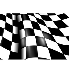 Sports Checkered Background vector image