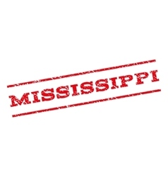 Mississippi watermark stamp vector